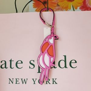 Kate Spade Parrot Bag Charm